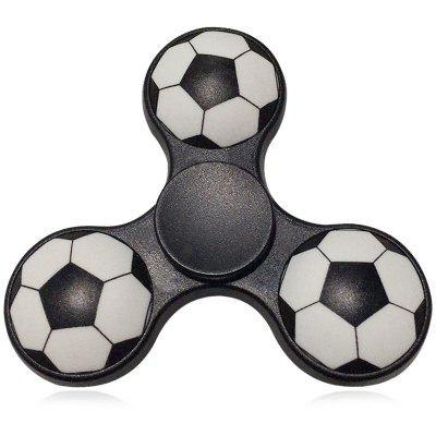 Fiddle Toy Soccer Pattern Finger Gyro Fidget Spinner