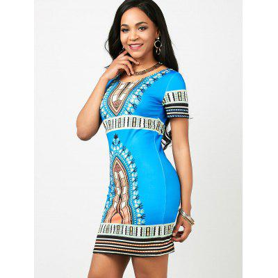 Dashiki Print Short Bodycon Dress (Random Print)Womens Dresses<br>Dashiki Print Short Bodycon Dress (Random Print)<br><br>Dresses Length: Mini<br>Elasticity: Elastic<br>Material: Polyester, Spandex<br>Neckline: Scoop Neck<br>Package Contents: 1 x Dress<br>Pattern Type: Tribal Print<br>Placement Print: No<br>Season: Summer<br>Silhouette: Bodycon<br>Sleeve Length: Short Sleeves<br>Style: Vintage<br>Waist: Natural<br>Weight: 0.2100kg<br>With Belt: No