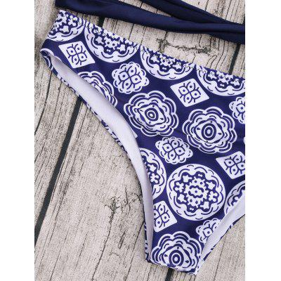 Halter Patterned Wrap Set Bikini Wrap Patterned Bikini Set Halter Halter PAxwqWdZY
