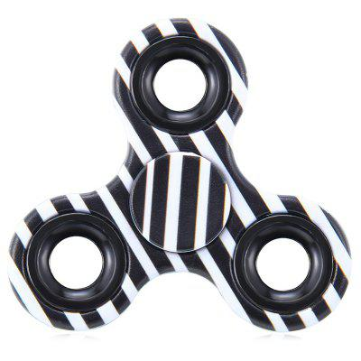 Focus Toy Triangle Striped Finger Gyro Fidget Spinner