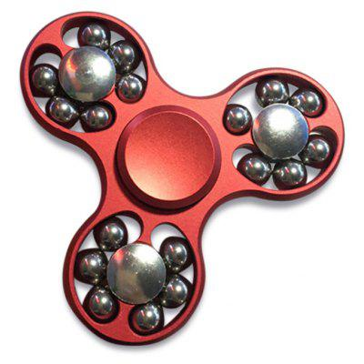 EDC Fidget Toy Hand Spinner with Rolled Beads