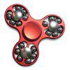 EDC Fidget Toy Hand Spinner with Rolled Beads - RED