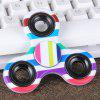 Focus Toy Triangle Striped Finger Gyro Fidget Spinner - COLORMIX