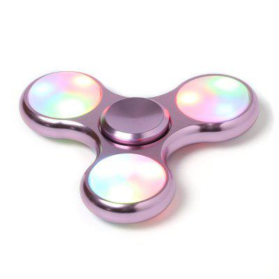 LED Light Fidget Hand Spinner Toy For ADHD