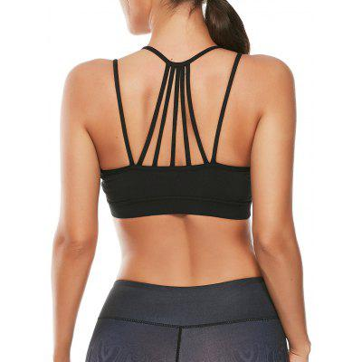 Strappy Workout Sutiã acolchoado