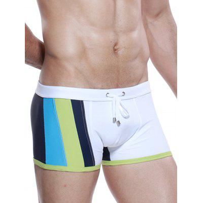 Drawstring Color Block Panel Design Swimming TrunksMens Swimwear<br>Drawstring Color Block Panel Design Swimming Trunks<br><br>Elasticity: Elastic<br>Gender: For Men<br>Material: Polyester, Spandex<br>Package Contents: 1 x Swimming Trunks<br>Pattern Type: Solid<br>Swimwear Type: Two-Pieces Separate<br>Weight: 0.1500kg