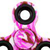 Buy Stress Relief Toy Camouflage Finger Gyro Fidget Spinner PINK