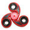 Stress Reliever Tri-Bar Finger Gyro Hand Spinner - RED