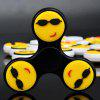 Fiddle Toy Reliver Emoticon Fidget Spinner - NEGRO