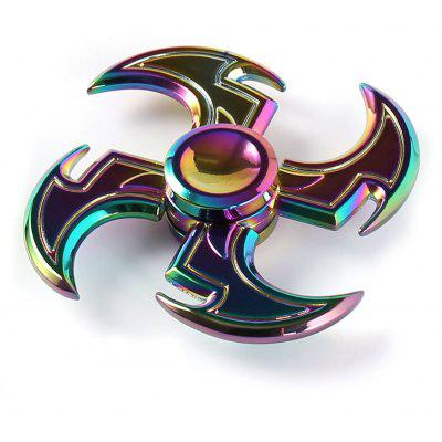 Colorful Axe Shape Fidget Toy Hand Spinner
