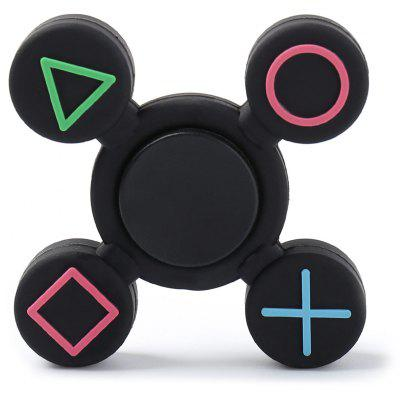 Play Station Plastic EDC Fidget Finger Spinner
