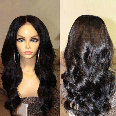 Long Center Part Body Wave Synthetic Wig