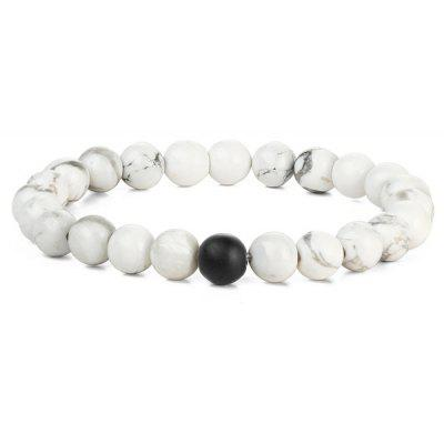 Faux Rammel Beads Energy Bracelet