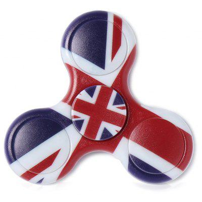 Buy DEEP BLUE Plastic National Flag Patriotic Patterned Fidget Spinner for $4.36 in GearBest store