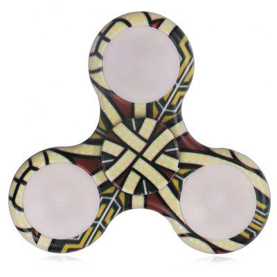 Buy Mandala Patterned Plastic Finger Spinner with LED Lights, YELLOW, Toys & Hobbies, Stress & Fidget Toys, Fidget Spinners for $6.09 in GearBest store