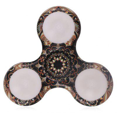 Buy Mandala Patterned Plastic Finger Spinner with LED Lights, BROWN, Toys & Hobbies, Stress & Fidget Toys, Fidget Spinners for $8.85 in GearBest store
