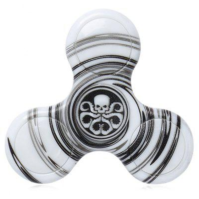 Buy Anti-stress Toy Plastic Patterned Fidget Spinner, BLACK, Toys & Hobbies, Stress & Fidget Toys, Fidget Spinners for $4.21 in GearBest store