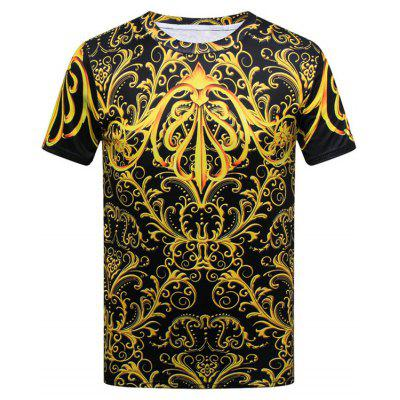 Royal Print Short Sleeve T-shirt