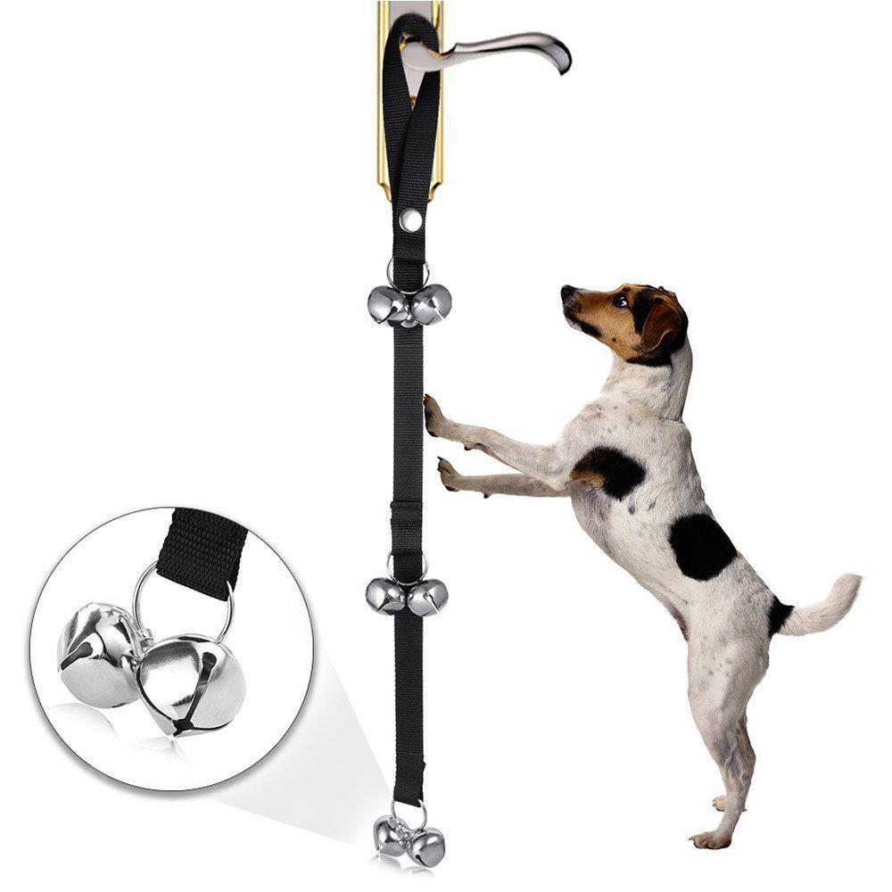 Dog House Training Door Bell Rope Pet Supplies