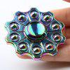 Stress Reliever Zinc Alloy Colorful Finger Gyro Hand Spinner - COLORFUL