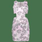 Slimming Cut-Out Printed Women's Bodycon Dress deal