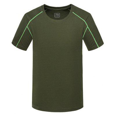 Quick Dry Breathable Short Sleeves Sport T-shirt