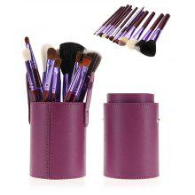 12Pcs Multifunction Makeup Brushes Set with Bucket