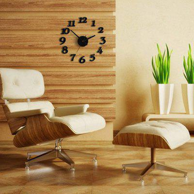 Home Decor Number Analog DIY Wall Clock