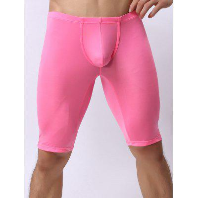 Buy PINK XL High Stretch U Contour Pouch Boxers for $9.21 in GearBest store
