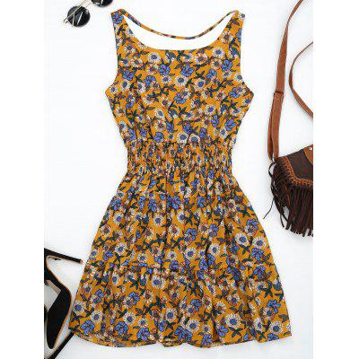 Floral Print Front Strap SundressMaxi Dresses<br>Floral Print Front Strap Sundress<br><br>Dresses Length: Mini<br>Material: Polyester<br>Neckline: Scoop Neck<br>Occasion: Beach and Summer, Casual, Day<br>Package Contents: 1 x Dress<br>Pattern Type: Floral<br>Season: Summer<br>Silhouette: A-Line<br>Sleeve Length: Sleeveless<br>Style: Cute<br>Weight: 0.2700kg<br>With Belt: No