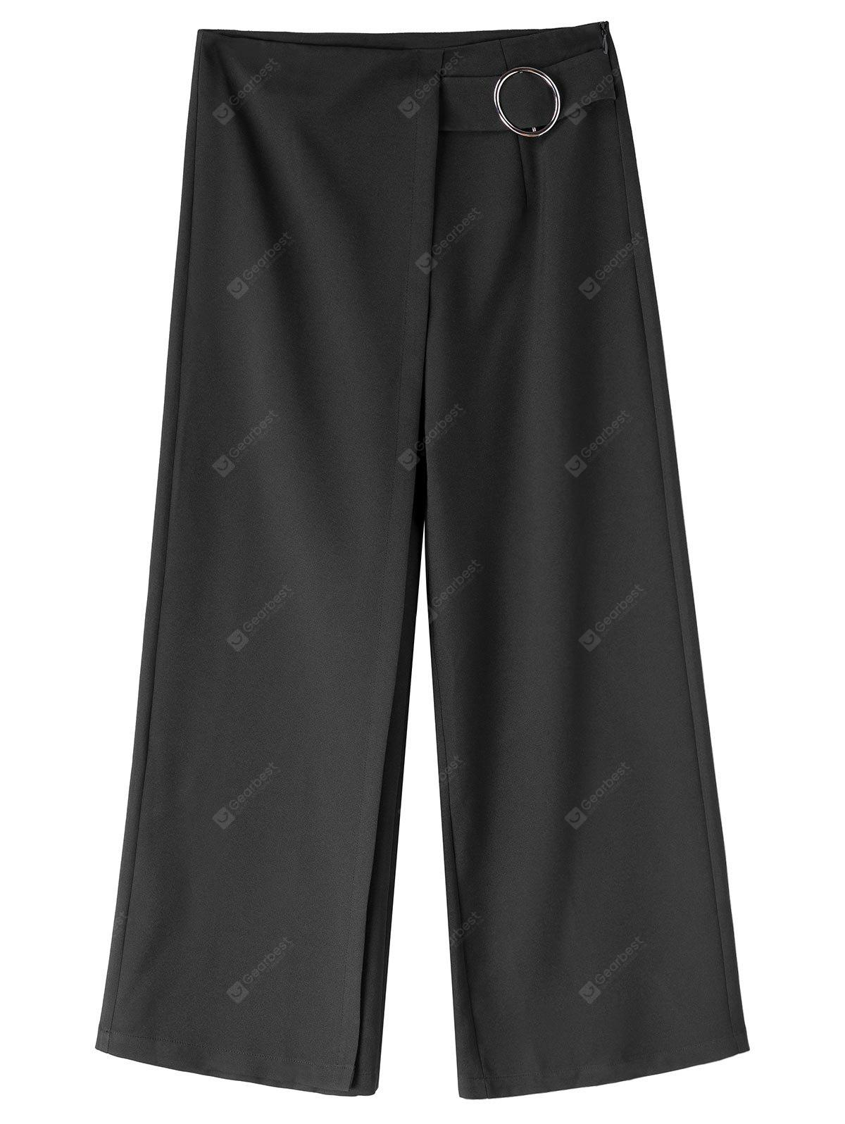 Wide Leg Plus Size Capri Gaucho Pants