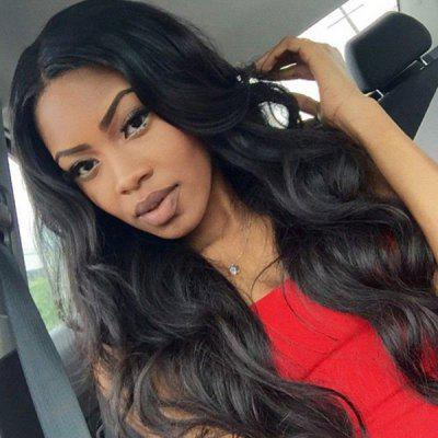 Dyed Perm Middle Parting Body Wave Long Synthetic Wig