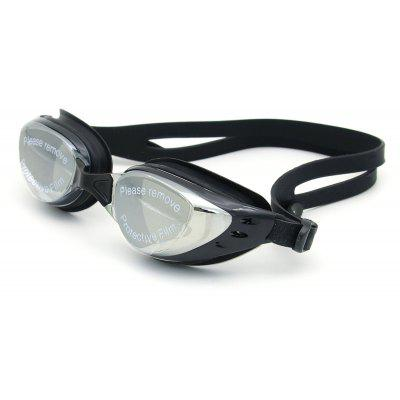 Sport Anti Fog UV Protection Waterproof Plain Mirrored Swimming Goggles