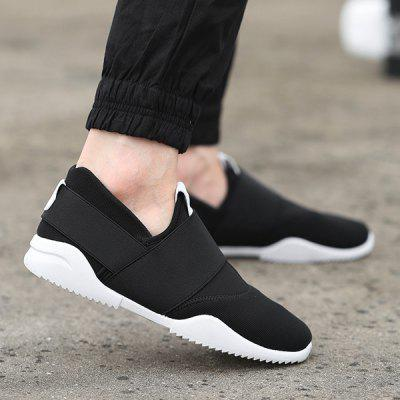 Buy BLACK 43 Breathable Elastic Stretch Fabric Casual Shoes for $25.94 in GearBest store