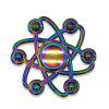 Floral Colorful Fidget Metal Spinner Anti-stress Toy - COLORMIX