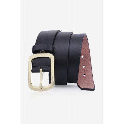 Retro Pin Buckle Artificial Leather Belt