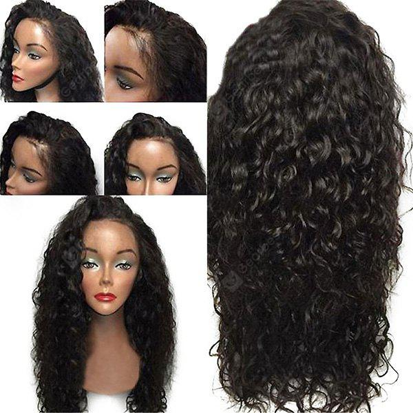 Lace Front Long Free Part Shaggy Layered Curly Synthetic Wig