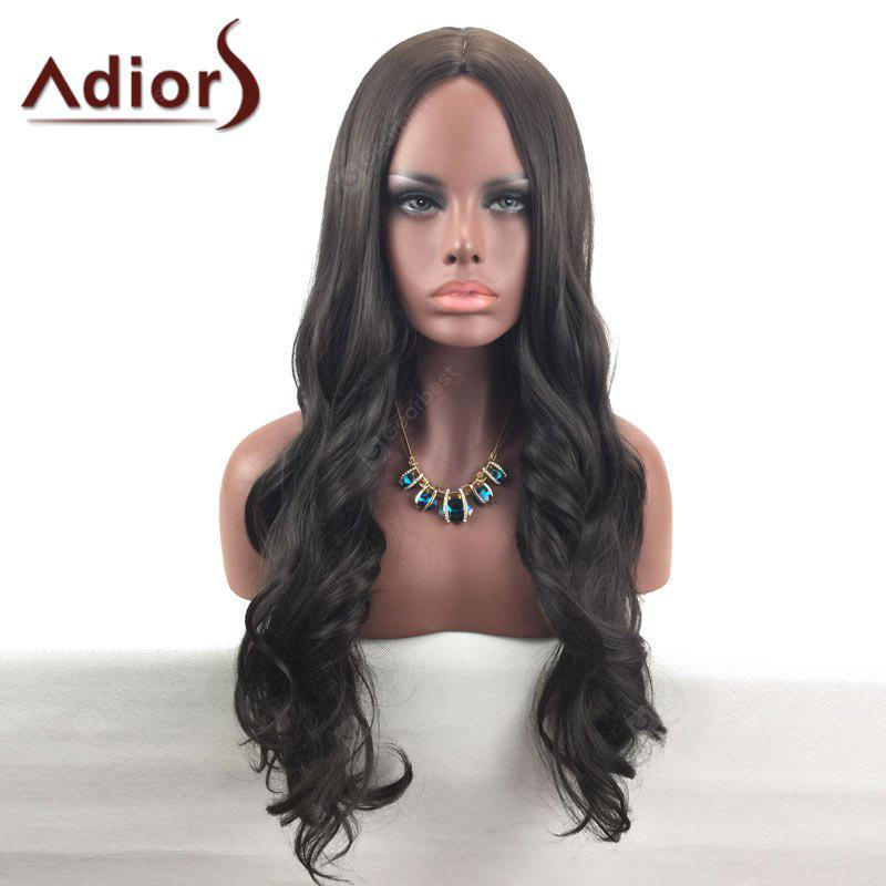 Adiors Middle Part Long Wavy Synthetic Wig