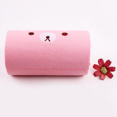 Stress Relief Soft Cake Roll Squishy Toy