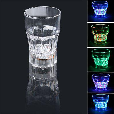 Inductive Rainbow Color LED Flash 285ml Whisky Mug