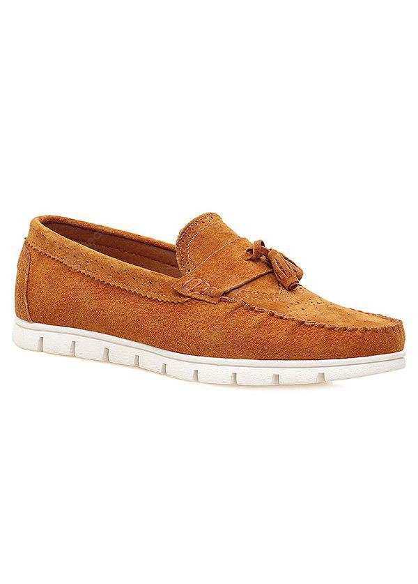 Suede simples e Tassels Design Casual Shoes For Men