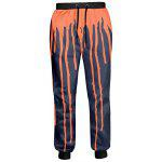 Buy COLORMIX Splashed Paint Drawstring Jogger Pants for $27.11 in GearBest store