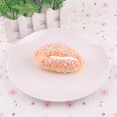 Early Education Prop Squishy Simulation Bread Toy