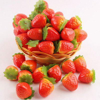 100Pcs/Set Simulation Strawberries Wedding Party Decor
