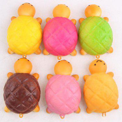 Squishy PU Turtle Random Antistress Toy Key Chain