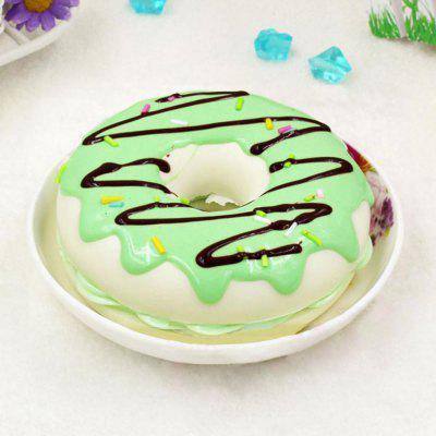 Home Decor Squishy Toy PU Sweet Donut Model