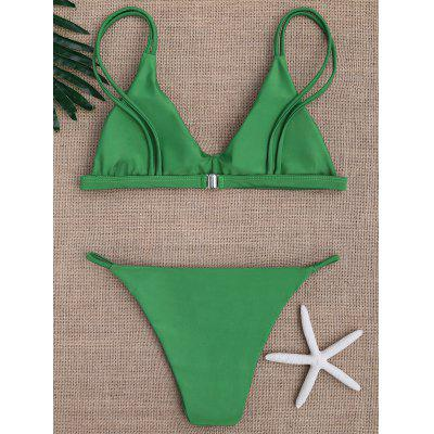 Spaghetti Straps Bikini SwimwearWomens Swimwear<br>Spaghetti Straps Bikini Swimwear<br><br>Bra Style: Padded<br>Elasticity: Elastic<br>Gender: For Women<br>Material: Nylon<br>Neckline: Spaghetti Straps<br>Package Contents: 1 x Bra 1 x Briefs<br>Pattern Type: Solid<br>Support Type: Wire Free<br>Swimwear Type: Bikini<br>Waist: Natural<br>Weight: 0.2700kg