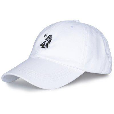 Number Palms Embroidery Baseball Cap