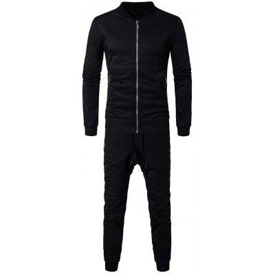 Giubbotto Zip Zip e Swatpants Twinset