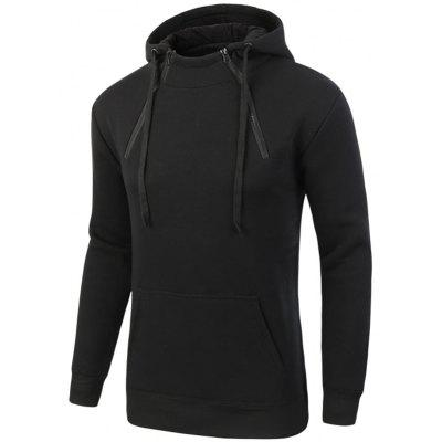 Winter Warm Zip Fleece Hoodie